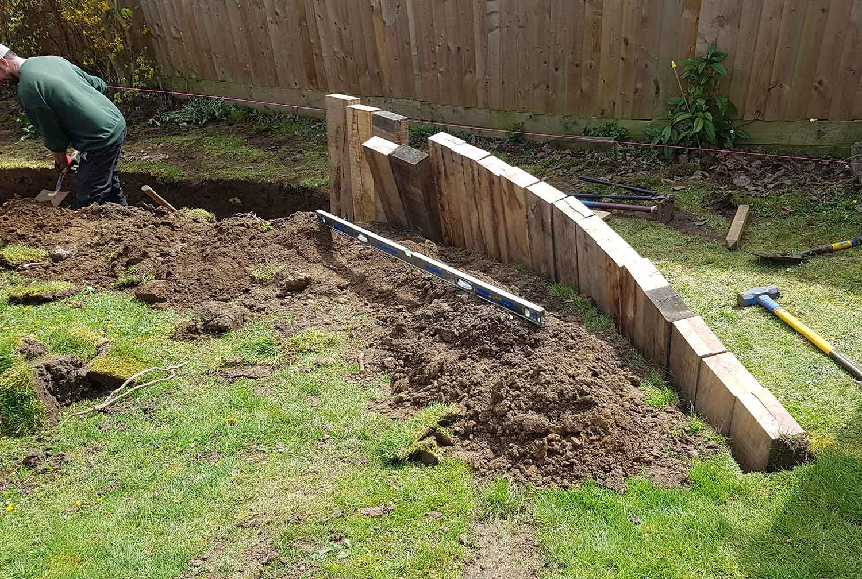 Cotswolds Garden Design & landscaping - Apple Tree Terraces - Gaiaveda Gardens